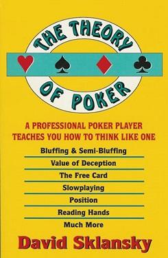 David Sklansky «Теория покера»