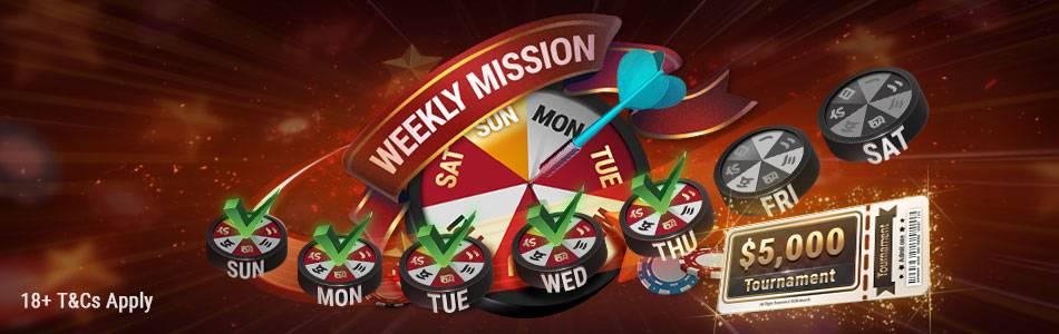 Миссии каждую неделю для увеличения своего банка