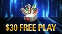 $30 в эквиваленте билетов на игры дарит PokerStars