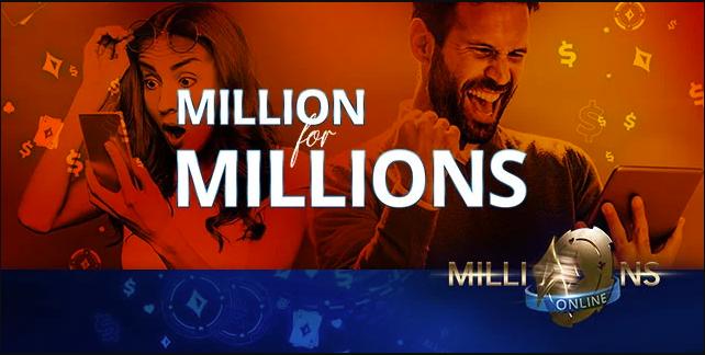 Миллион для миллионов на Пати Покер